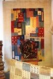 Kleurrijke Perzische met de hand gemaakte Tapijtgalerij stock foto's