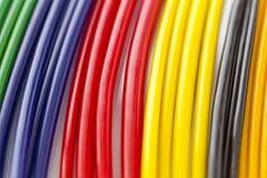 Kleurrijke plastic buizen Royalty-vrije Stock Afbeelding