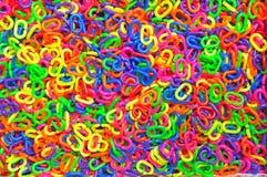 Kleurrijke Plastic Ketting Royalty-vrije Stock Foto