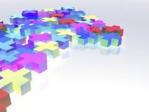 Kleurrijke pluses Vector Illustratie