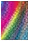 Kleurrijke pointilismachtergrond Royalty-vrije Stock Foto's