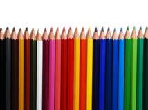 Kleurrijke potloden Stock Afbeelding