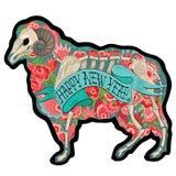 Kleurrijke Ram Stock Foto