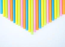 Kleurrijke rechte stropijl Stock Foto's