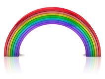 Kleurrijke regenboog Royalty-vrije Stock Foto's