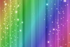 Kleurrijke regenboogachtergrond stock illustratie