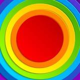 Kleurrijke regenboogachtergrond met ruimte voor tekst Royalty-vrije Stock Foto's