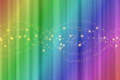 Kleurrijke regenboogachtergrond met verticale strepen stock illustratie