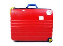 Kleurrijke reisbagage Stock Foto's