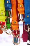 Kleurrijke Riemen Stock Foto's
