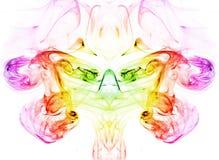 Kleurrijke rook Stock Fotografie