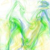 Kleurrijke rookachtergrond Royalty-vrije Stock Afbeeldingen