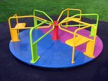 Kleurrijke rotonde Stock Foto