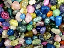 Kleurrijke rotsen Stock Fotografie