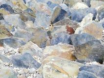 Kleurrijke rotsen voor tuin royalty-vrije stock afbeeldingen