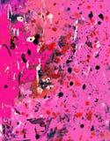 Kleurrijke Roze Achtergrond Grunge Stock Foto