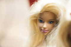 Kleurrijke samenstelling met Barbie-poppen Royalty-vrije Stock Afbeelding