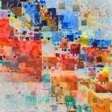 Kleurrijke samenvatting vector illustratie