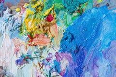 Kleurrijke samenvatting geschilderde achtergrond Royalty-vrije Stock Foto