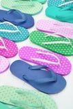 Kleurrijke sandals Royalty-vrije Stock Fotografie