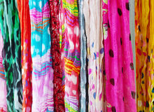 Kleurrijke Scafs Stock Fotografie