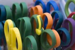 Kleurrijke schaar Stock Foto
