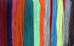 Kleurrijke schoenveters Stock Afbeeldingen