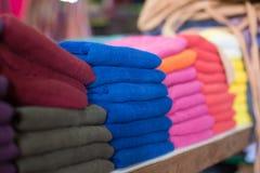 Kleurrijke sjaals Royalty-vrije Stock Afbeeldingen