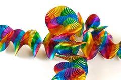 Kleurrijke slingers Royalty-vrije Stock Afbeeldingen