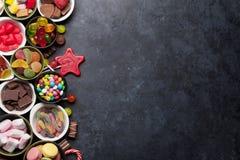 Kleurrijke snoepjes Royalty-vrije Stock Foto