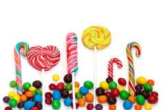 Kleurrijke snoepjes Royalty-vrije Stock Foto's