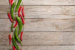 Kleurrijke Spaanse peperpeper royalty-vrije stock afbeeldingen