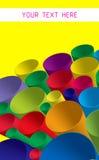 Kleurrijke spatie stock illustratie