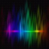 Kleurrijke spectrumachtergrond royalty-vrije stock foto