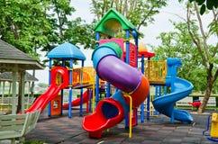 Kleurrijke speelplaats Royalty-vrije Stock Fotografie
