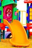 Kleurrijke speelplaats Stock Foto's