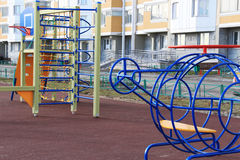 Kleurrijke speelplaats Royalty-vrije Stock Foto's