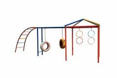 Kleurrijke speelplaats voor jong geitje Royalty-vrije Stock Fotografie