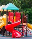 Kleurrijke speelplaatsapparatuur Royalty-vrije Stock Foto