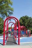 Kleurrijke speelplaatsapparatuur Royalty-vrije Stock Fotografie