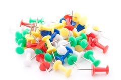 Kleurrijke Spelden Stock Foto's