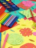 Kleurrijke spelen Royalty-vrije Stock Foto's