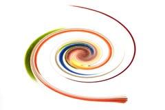 Kleurrijke spiraal stock foto
