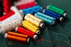 Kleurrijke spoelen Royalty-vrije Stock Afbeeldingen