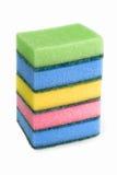 Kleurrijke spons Royalty-vrije Stock Afbeeldingen