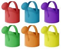 Kleurrijke sproeiers Royalty-vrije Stock Afbeelding