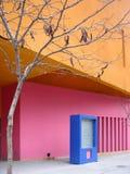 Kleurrijke Stad Stock Foto's
