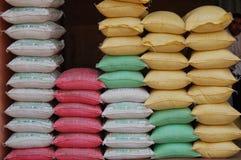 Kleurrijke Stapel Manufacturen, Katmandu, Nepal royalty-vrije stock foto
