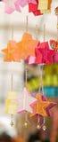 Kleurrijke Sterren Stock Afbeeldingen