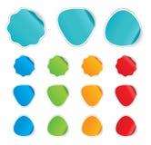 Kleurrijke Stickers Royalty-vrije Stock Fotografie